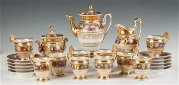 Old Paris Porcelain Coffee Service