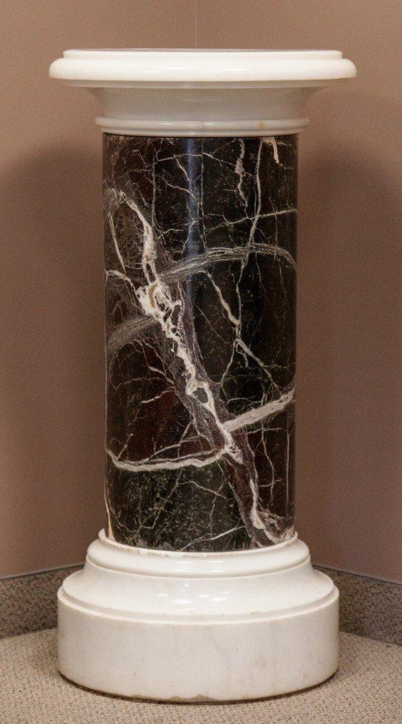 Marble Pedestal, Rotating