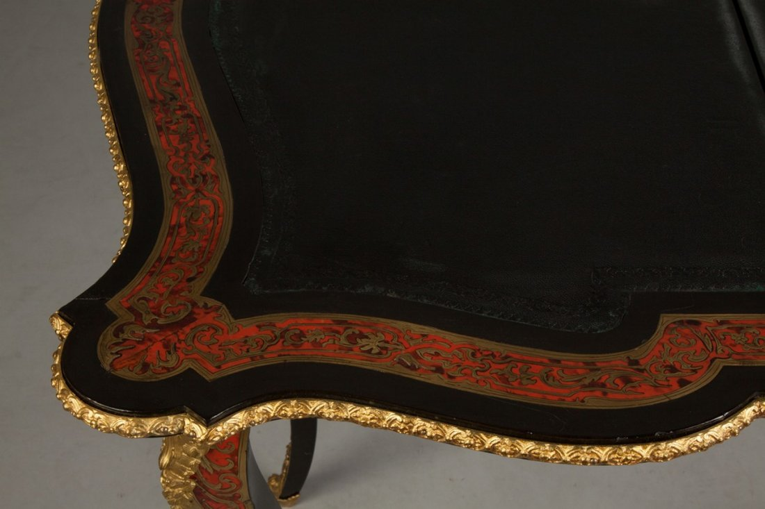 Fine Boulle and Ebonized Card Table - 6