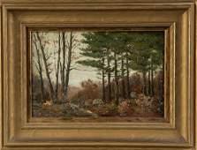 Charles Warren Eaton (American, 1857-1937) Woodland