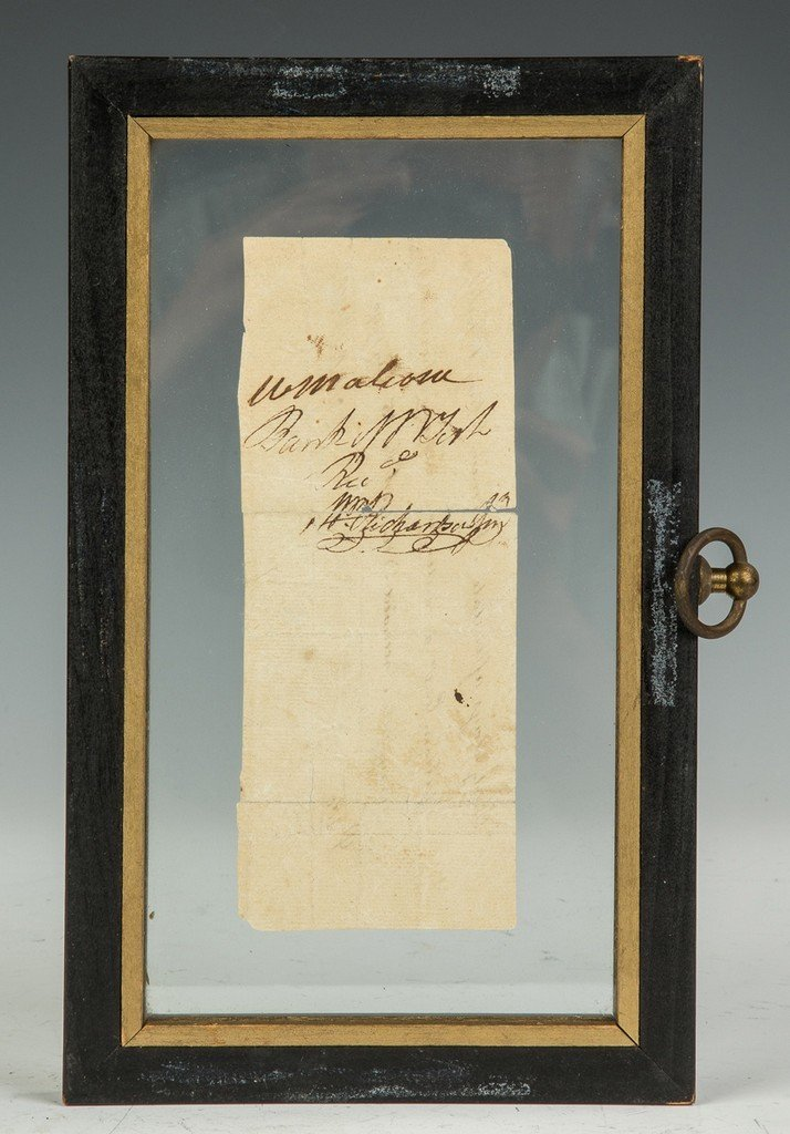 Aaron Burr $200 Bank Note - 2