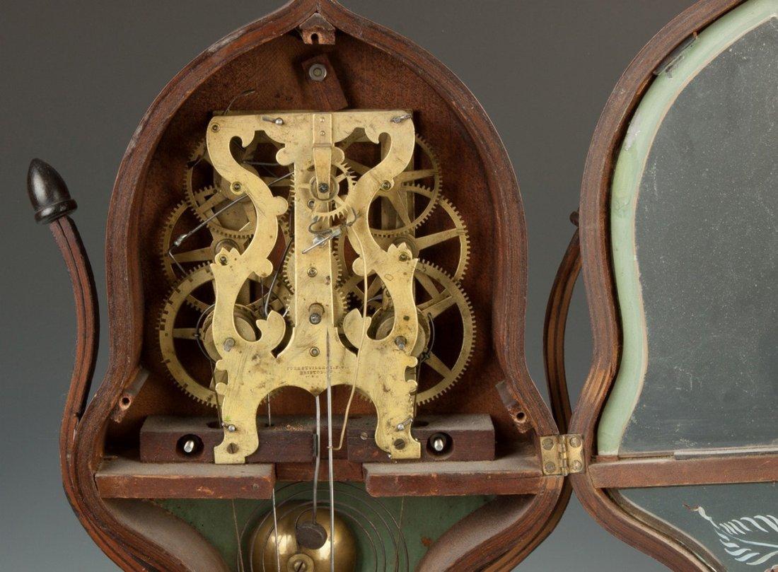 J.C. Brown Acorn Shelf Clock, for Forestville, Bristol, - 3