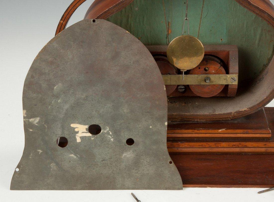 J.C. Brown Acorn Shelf Clock, for Forestville, Bristol, - 4