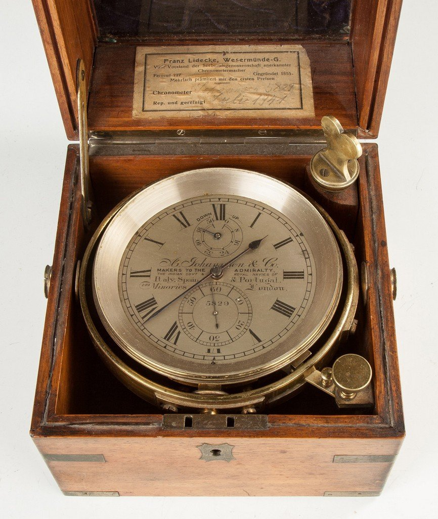 A. Johannsen and Co. Ship's Chronometer, London,