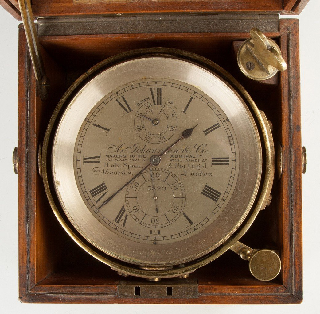 A. Johannsen and Co. Ship's Chronometer, London, - 2