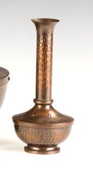Roycroft Hammered Copper American Beauty Vase