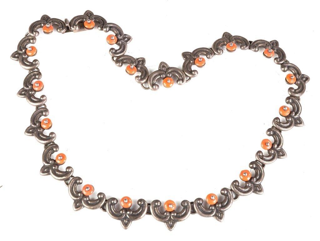 Vintage Los Castillo Navajo Necklaces, Bracelet and Ear - 3