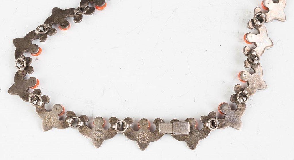 Vintage Los Castillo Navajo Necklaces, Bracelet and Ear - 4