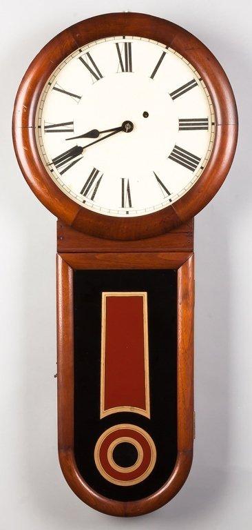 Howard Style Keyhole Wall Clock