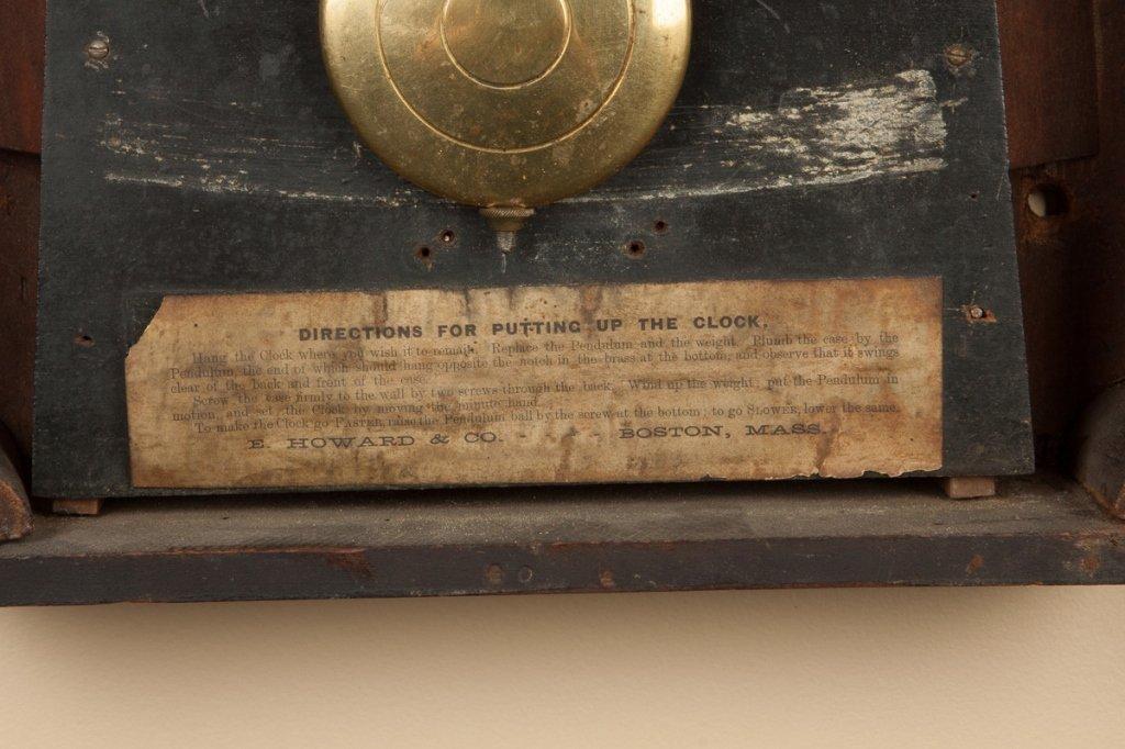 E. Howard & Co. #4 Banjo Clock - 3