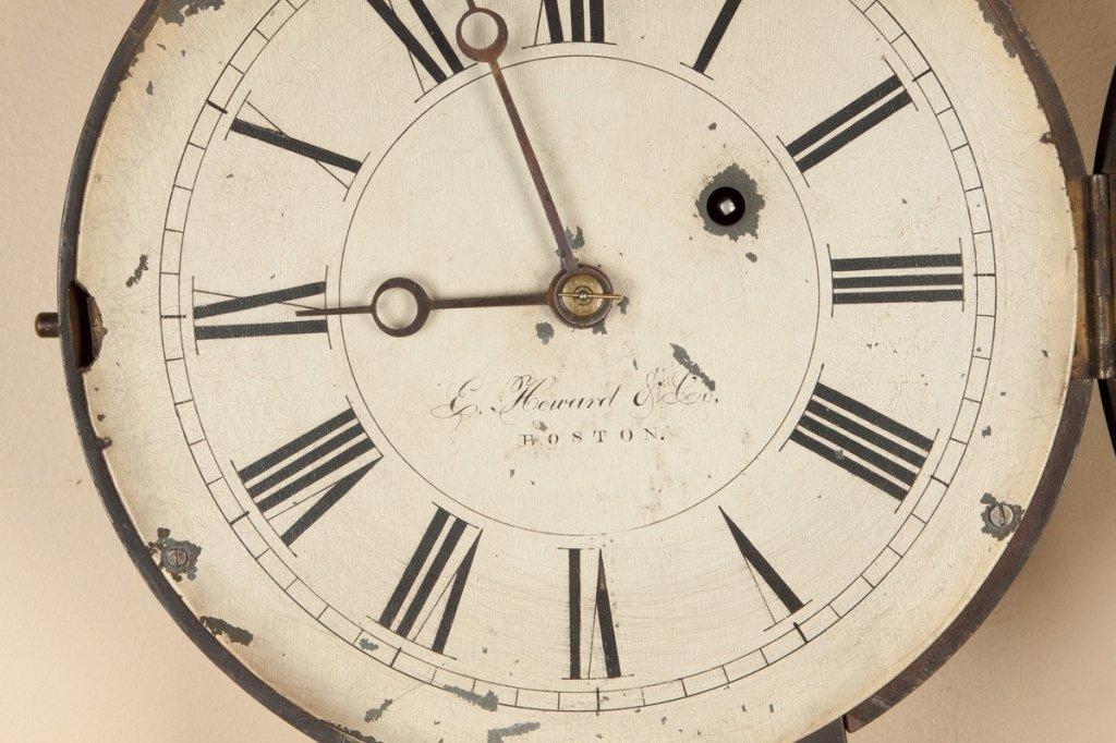 E. Howard & Co. #4 Banjo Clock - 4