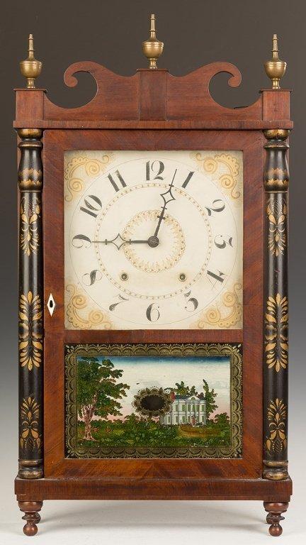 Chauncey Ives Jester Top Shelf Clock
