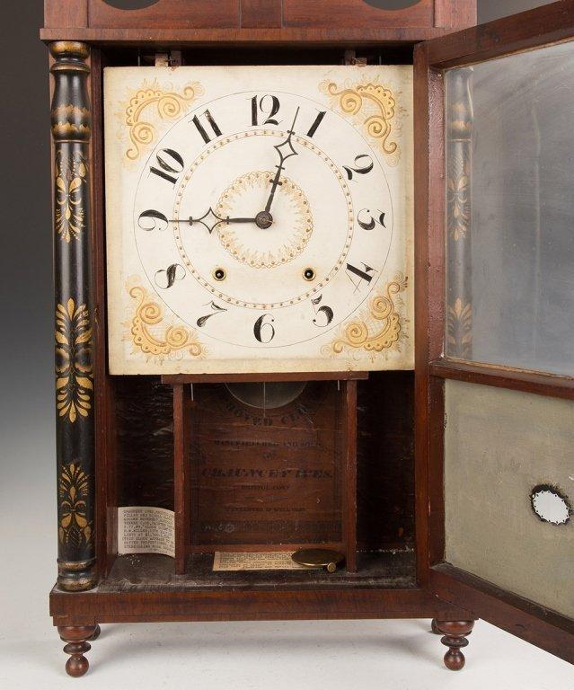 Chauncey Ives Jester Top Shelf Clock - 2