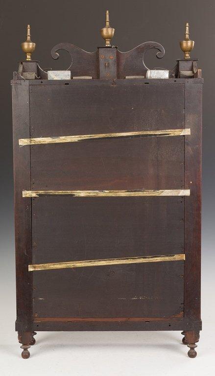 Chauncey Ives Jester Top Shelf Clock - 3