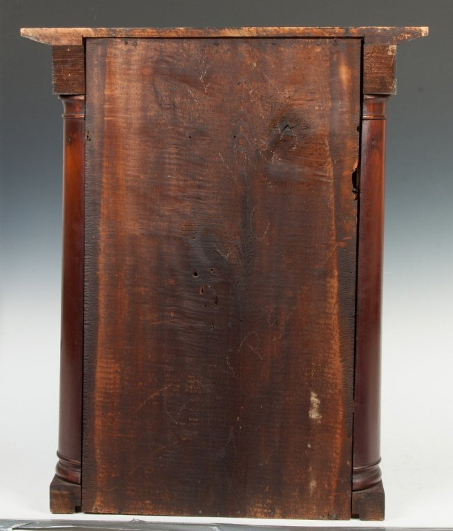 Mark Levenworth Empire Faux Hollow Column Shelf  Clock, - 4