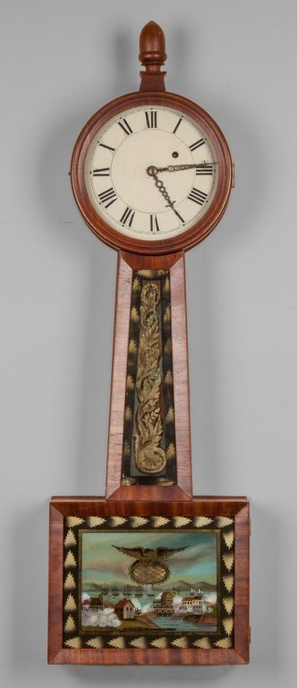 New England Banjo Clock