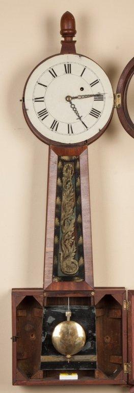 New England Banjo Clock - 2