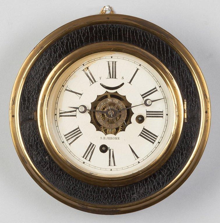 S.B. Jerome Gallery Clock, CT