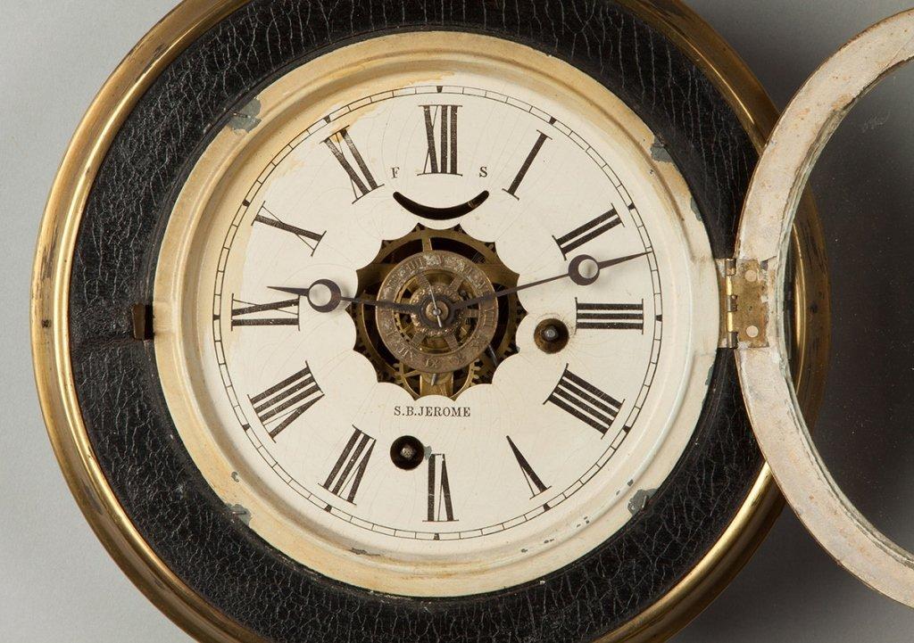 S.B. Jerome Gallery Clock, CT - 2