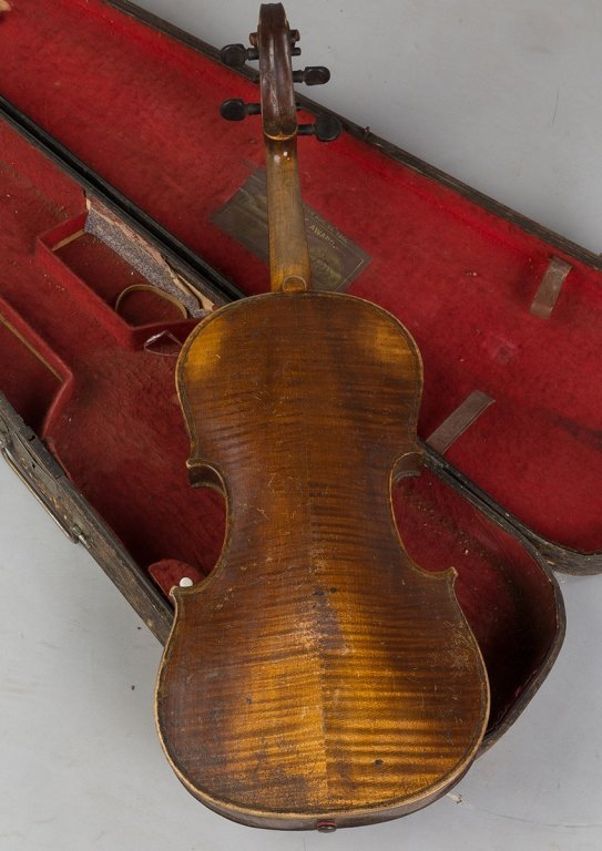 Vintage Violin in Wood Case - 2