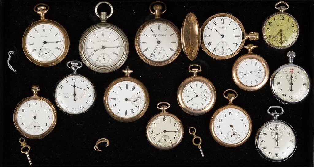 Group Misc. Vintage Pocket Watches
