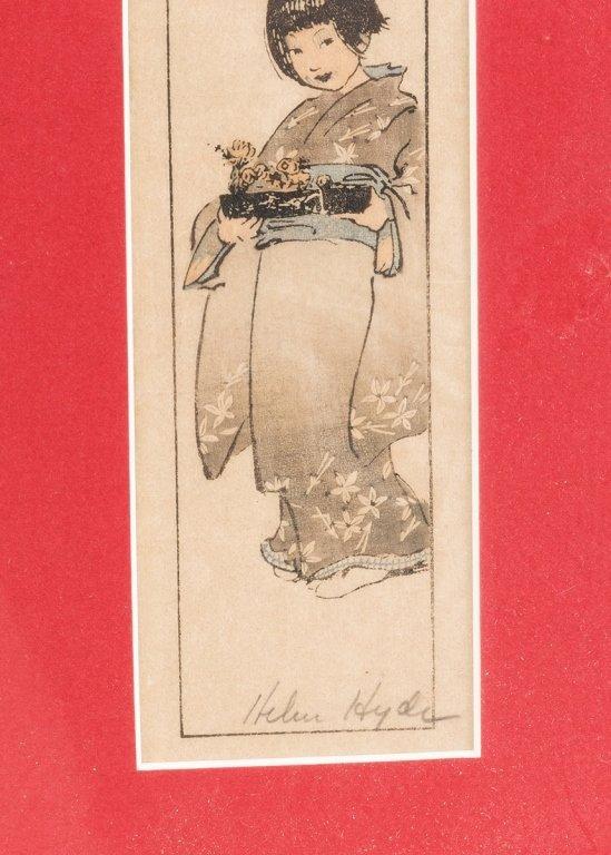 Two Helen Hyde Prints - 5