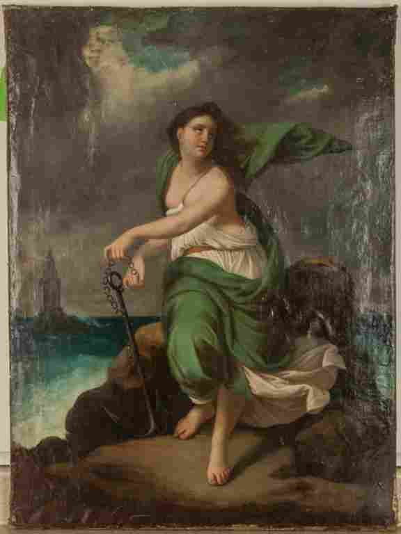 An Allegory of Hope Painting