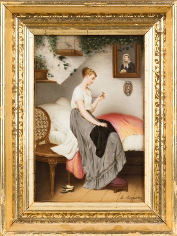 19th Century Painting on Porcelain