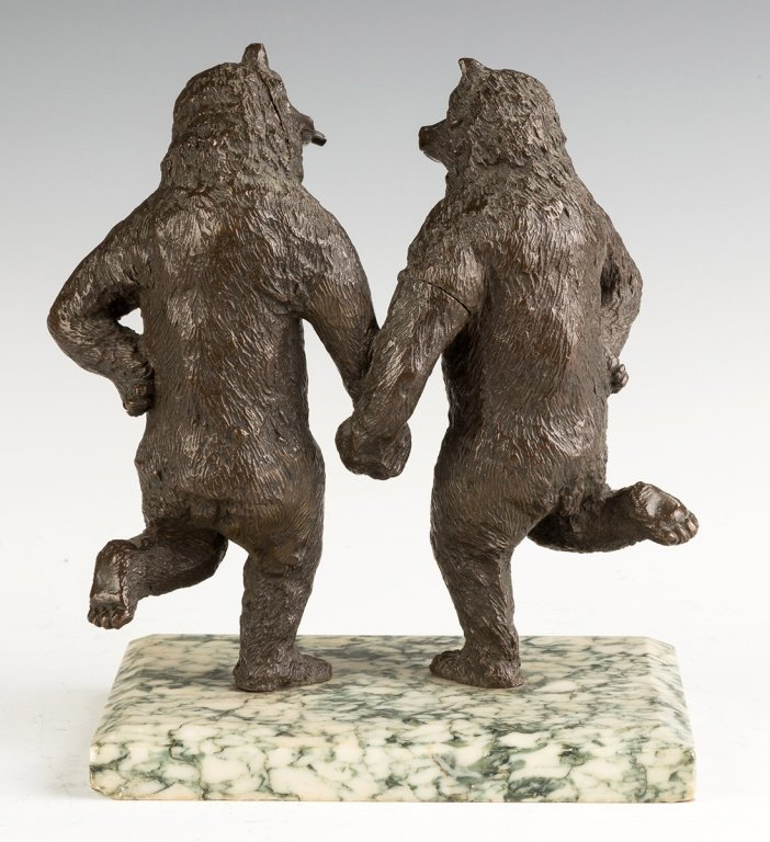 Bronze Dancing Bears, Attributed to Christophe  Fratin - 2