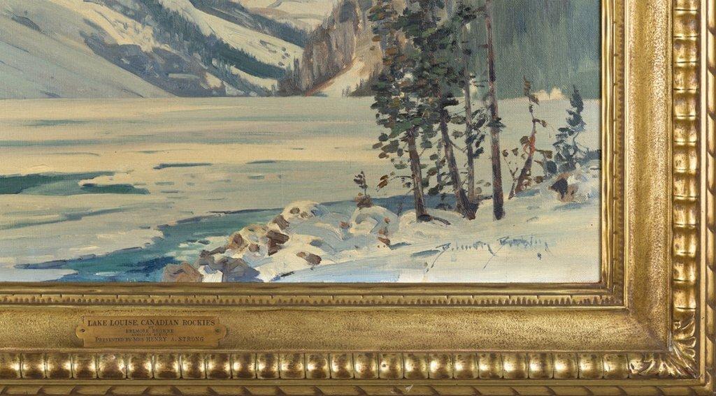 "Belmore Browne (American, 1880-1954) ""Lake Louise, - 2"