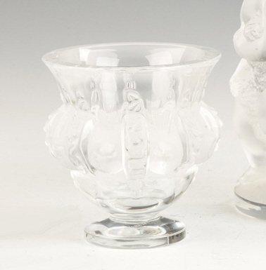 Lalique Vase with Birds