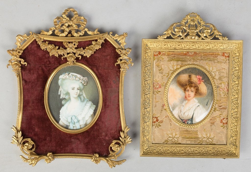 Two 19th Century Miniatures