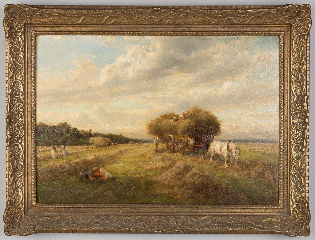"Charles James Lewis  (English, 1830-1892)  ""A"