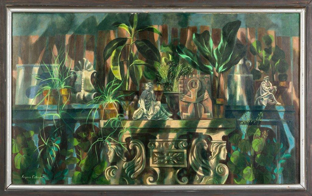 "Virginia Cuthbert (American, 1908-2001) ""Garden"
