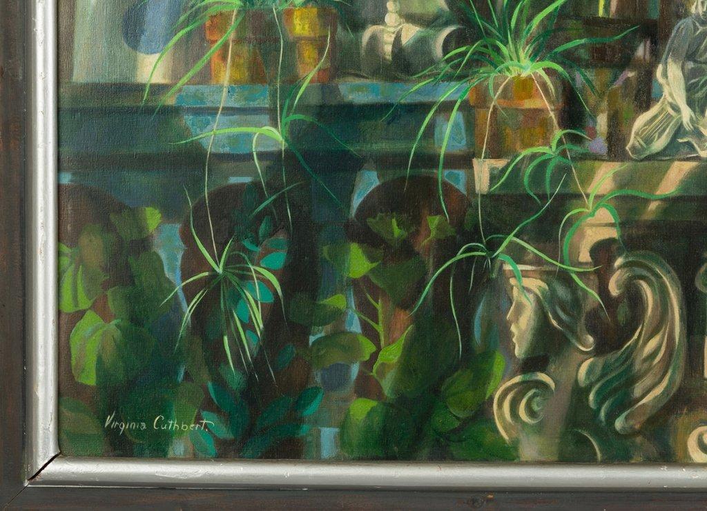 "Virginia Cuthbert (American, 1908-2001) ""Garden - 2"