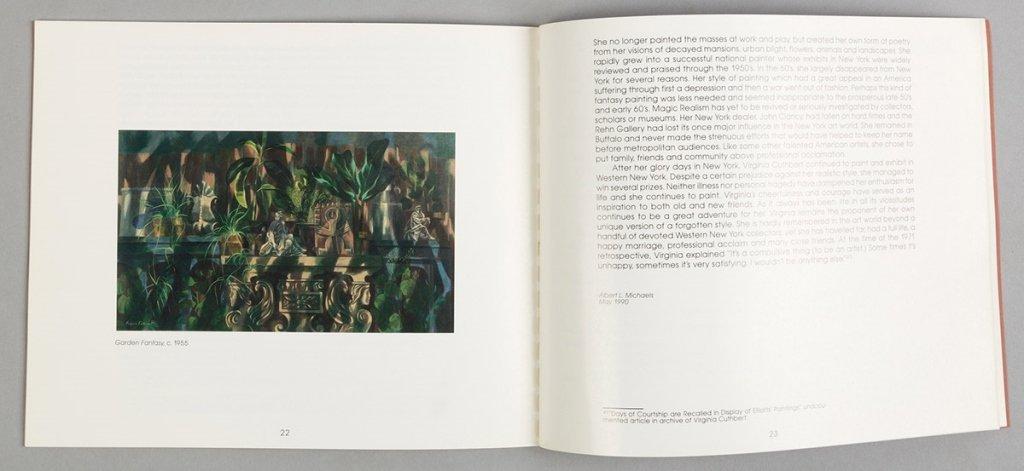 "Virginia Cuthbert (American, 1908-2001) ""Garden - 4"