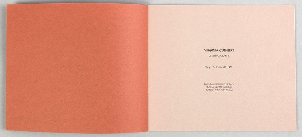 "Virginia Cuthbert (American, 1908-2001) ""Garden - 5"