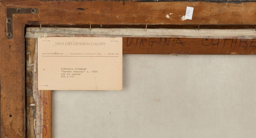 "Virginia Cuthbert (American, 1908-2001) ""Garden - 6"