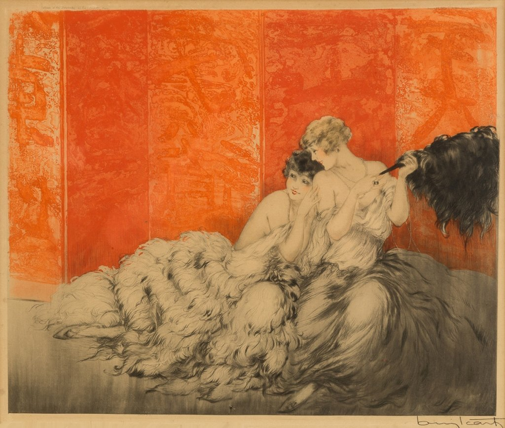 "Louis Icart  (French, 1888-1950) ""Mockery  Moquerie"" - 2"