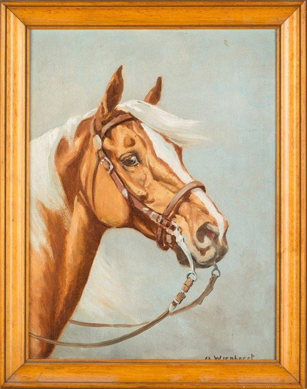 Olaf Wieghorst  (American, 1899-1988)  Horse  Portrait