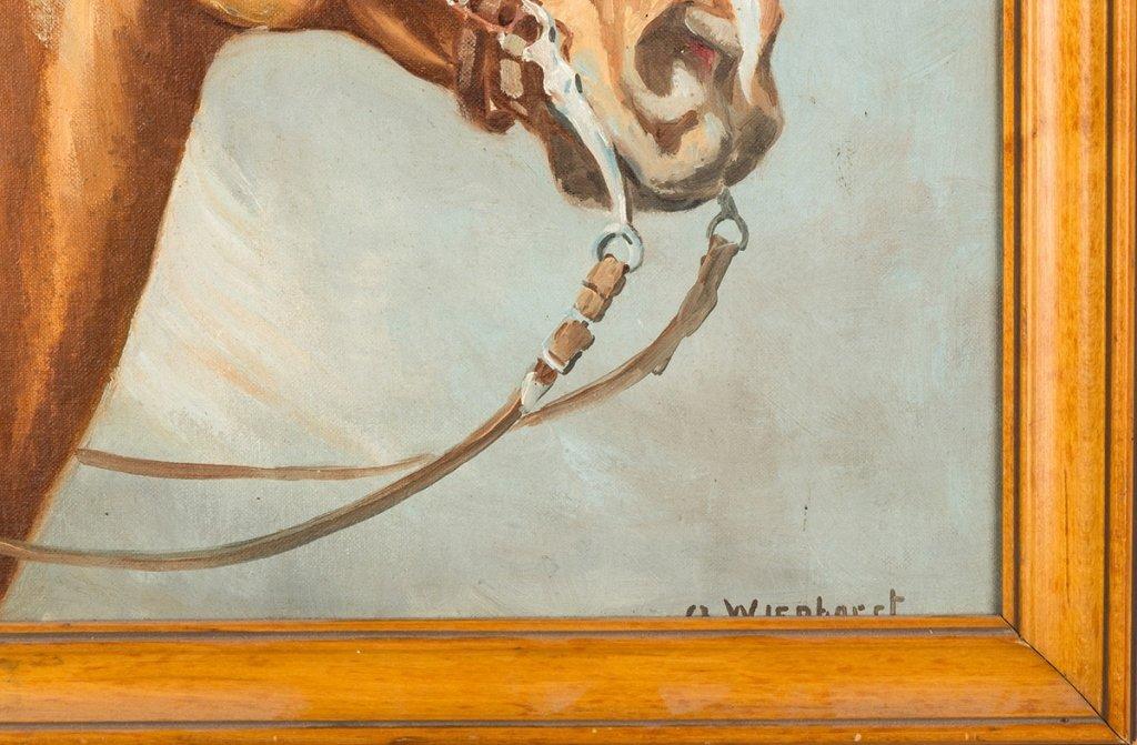 Olaf Wieghorst  (American, 1899-1988)  Horse  Portrait - 2