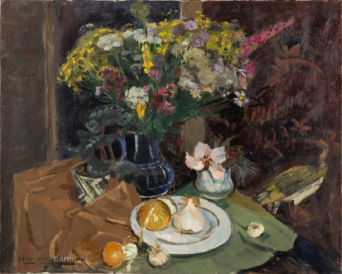 Pierre-Eugene Clairin (French, 1897-1980) Still  Life