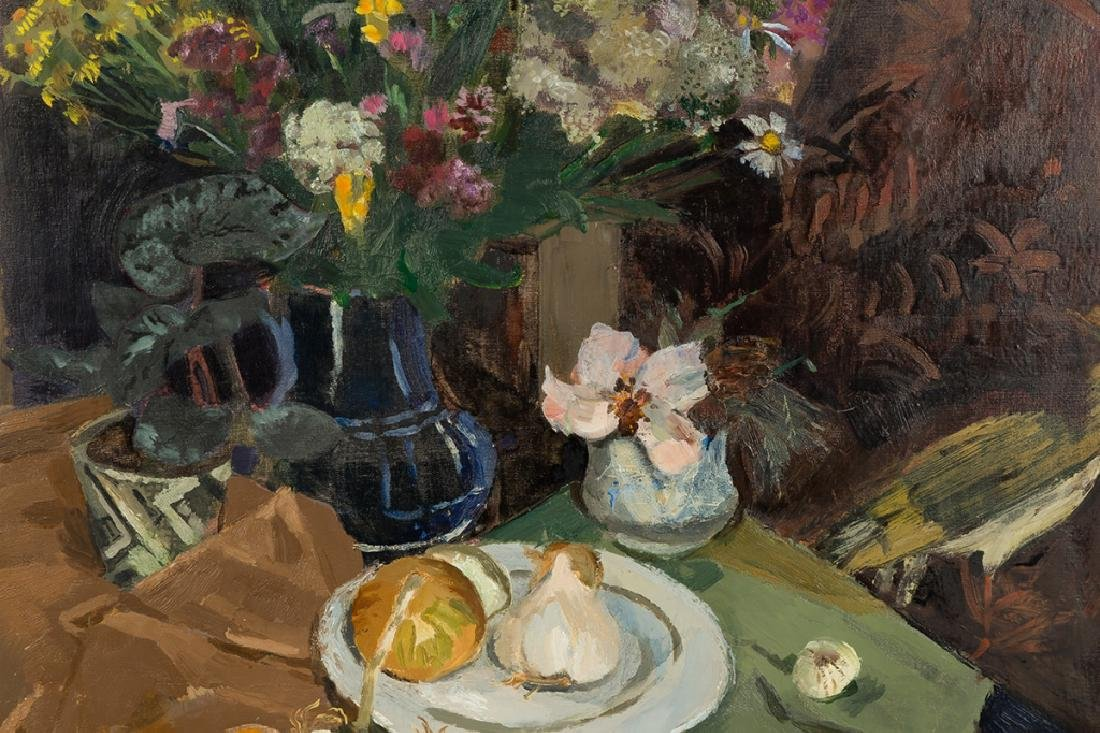 Pierre-Eugene Clairin (French, 1897-1980) Still  Life - 3