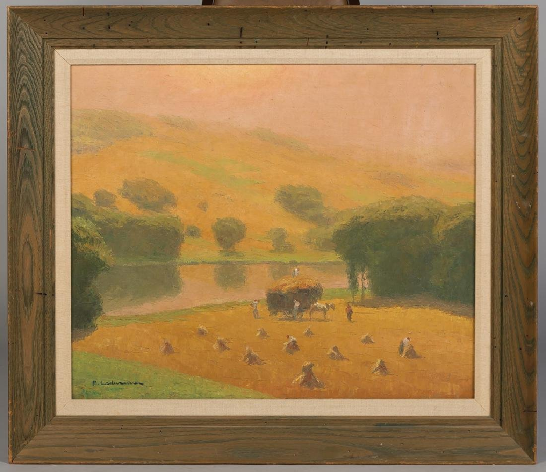 "Pierre Ladureau (French, 1882-1974) ""La Moisson"""