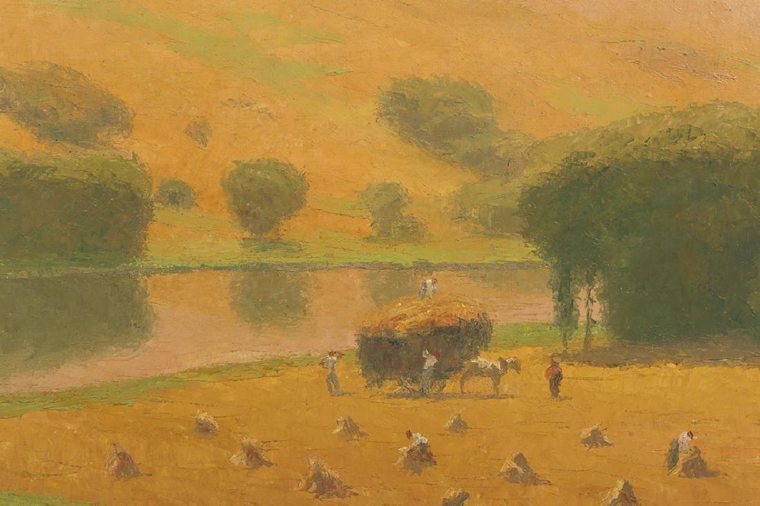 "Pierre Ladureau (French, 1882-1974) ""La Moisson"" - 3"