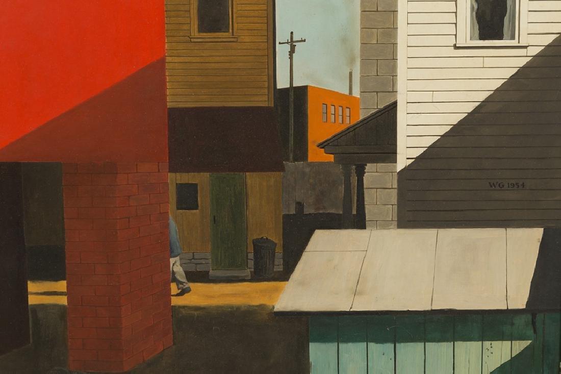 Walter Garver (American, born, 1927) Modern Street - 2