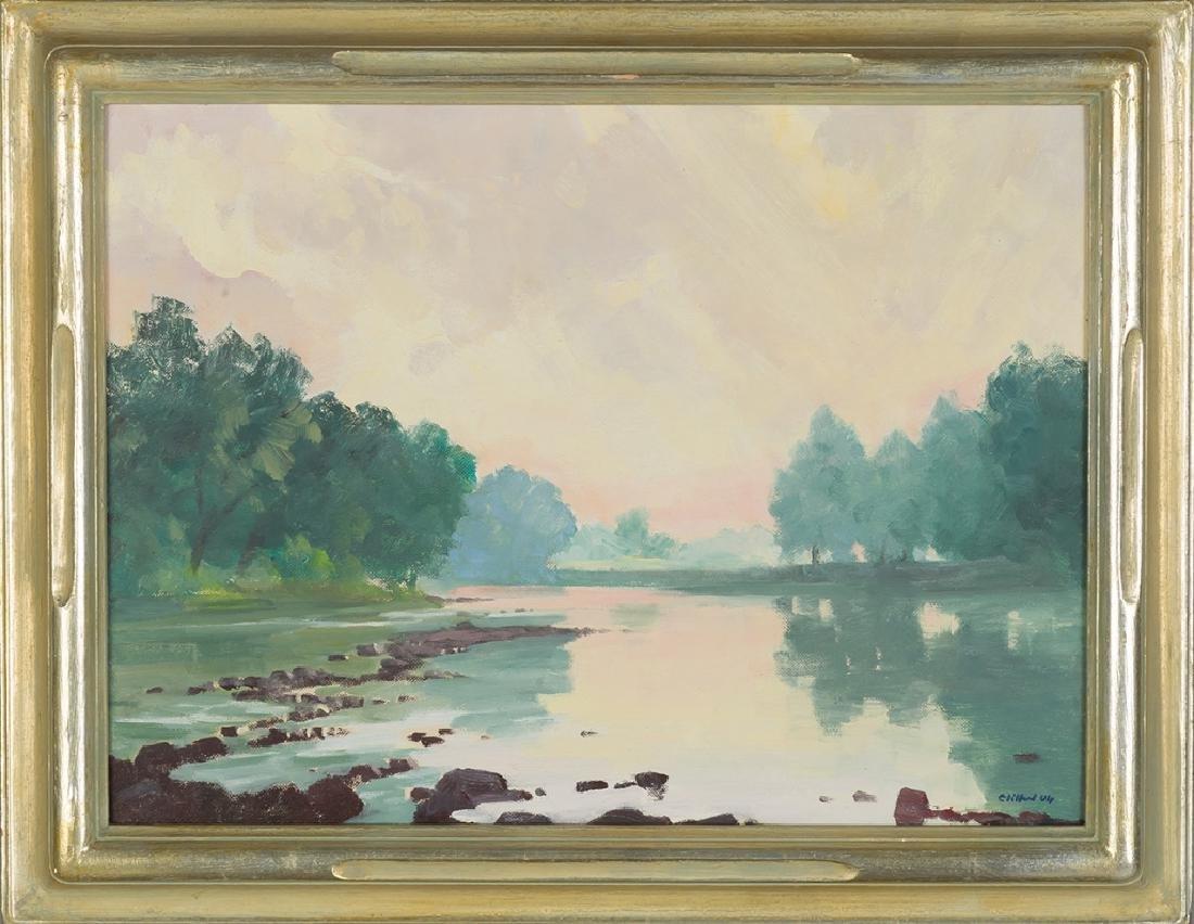 Clifford Ulp (American, 1885-1957) 3 Paintings - 4