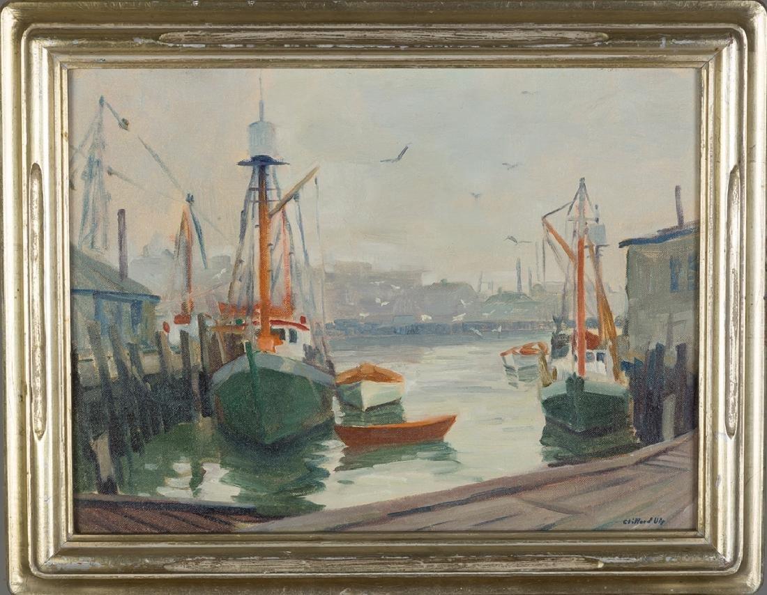 Clifford Ulp (American, 1885-1957) 3 Paintings - 7