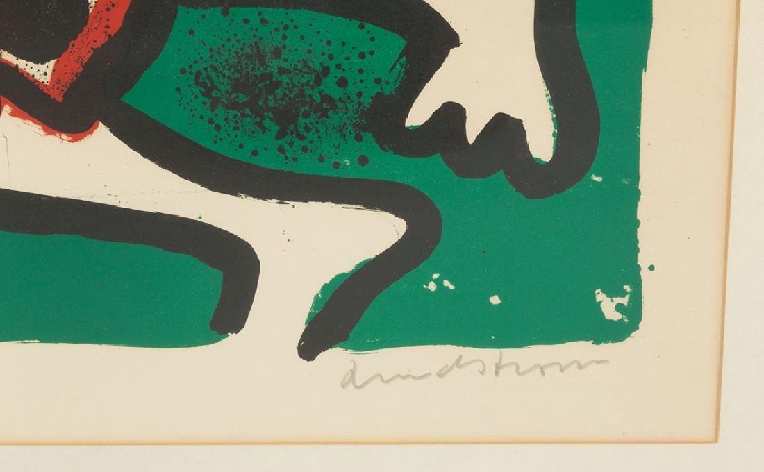 "Bengt Lindstrom (Swedish, 1925-2008) ""Viking"" &  Sonia - 3"