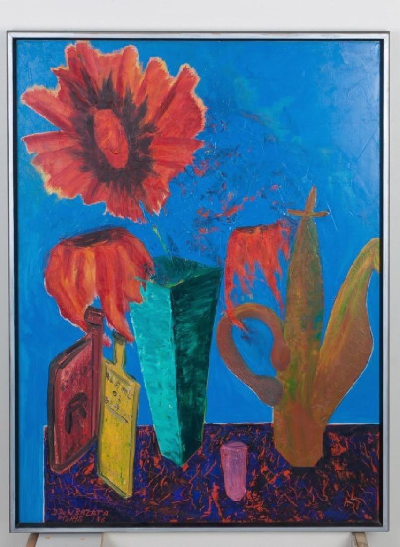 D. Dewitt Bazata (American, 1911-1999) Still Life